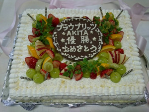 ブラウブリッツケーキ